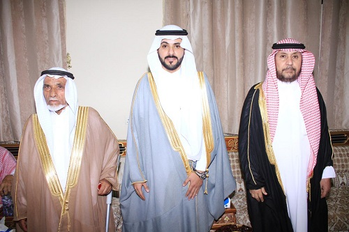 """عبيد بن ضيف الله الدبلان يحتفل بزواج ابنه """"احمد"""""""