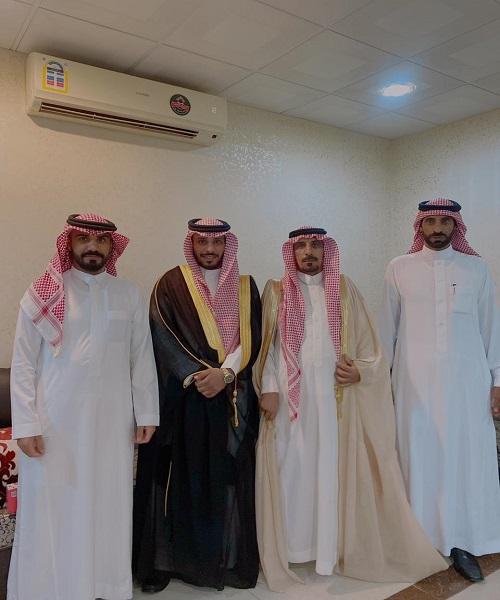 """عايد بن عبيد السرعوفي يحتفل بزواج ابنه """"فيصل"""""""
