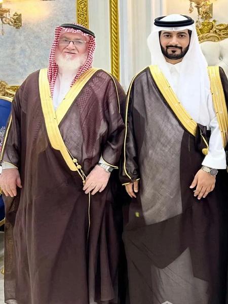 """صويلح بن سعود الطعيميس يحتفل بزواج ابنه """"محمد"""""""