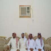 أول أعياد الأضحى المبارك لعشيرة آل عجي بالحفير ( ليلاً )
