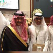 الطالب: فهد سعود البشير يحصل على جائزة التفوق والابداع