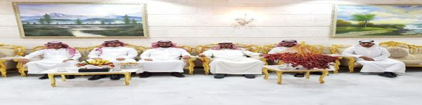 رابع ايام عيد الاضحى المبارك مساء بحائل في قصر راضي صالح الطعيميس