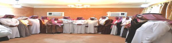 شبات أهالي رفحاء لأعيان عشيرة ال عجي