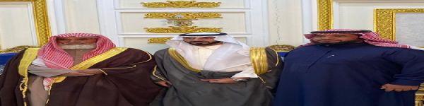"""مناحي بن مشعل الطعيميس يحتفل بزواج ابنه """"مشعل"""""""