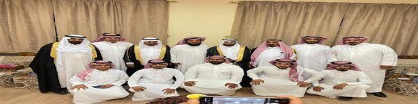 """فهيد بن غربي العليق يحتفل بزواج نجله """"ماجد"""""""