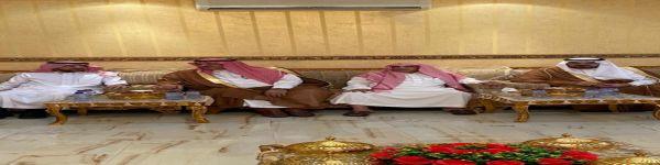 شبة خليف بن جالي الهادي  لضيوف مناسبة نافع العجي