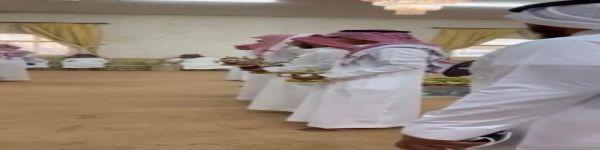 الشبات لضيوف مناسبة نافع آل عجي  في مدينة الحفير