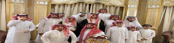مشاري بن سعود سراي آل عجي يحتفل بزواجه